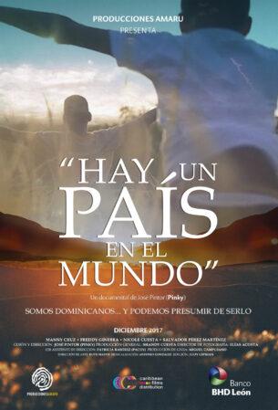 Afiche HAY UN PAÍS EN EL MUNDO