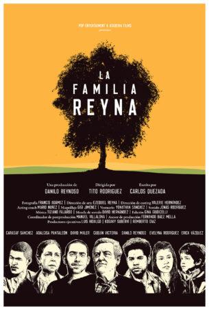 Poster La Familia Reyna